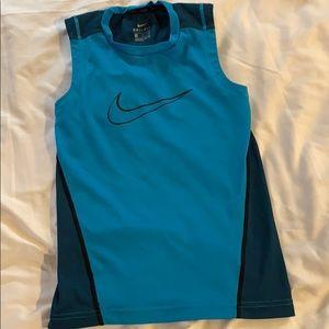 Boys Nike dry fit sports tank
